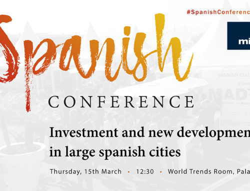 Spanish Conference: Investment and new developments in large spanish cities